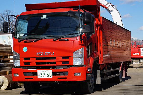 水密型8トントラック
